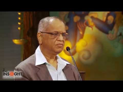 Narayana Murthy @INSIGHT: Entrepreneurs Matter For India