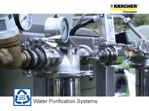 Purificación de agua por osmosis inversa