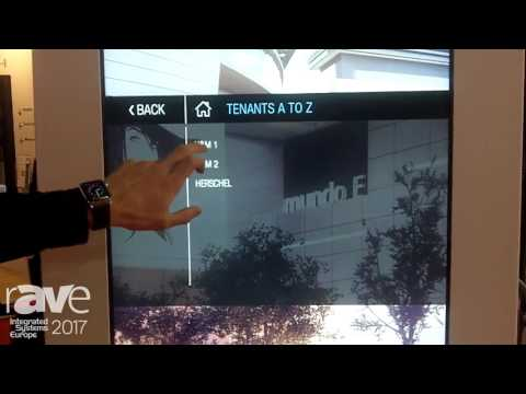 ISE 2017: ViaDirect Exhibits Dual-Signed Digital Wayfinding Solution
