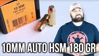 10mm Auto HSM 180 gr Gold Dot JHP Gel Test Review