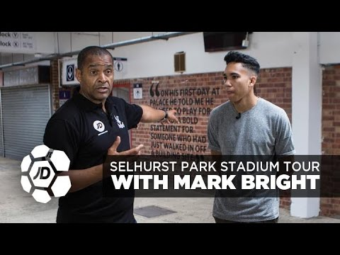 Crystal Palace Legend Mark Bright Takes Craig on a Selhurst Park Stadium Tour