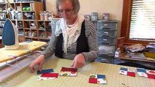 "How to make Mug Mats using 5"" squares - Quilting Tips & Techniques 002"