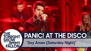 Download Lagu Panic! At The Disco: Say Amen (Saturday Night) Gratis STAFABAND