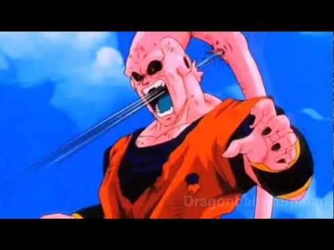 Dragon Ball z Majin Buu vs Vegito Vegito Candy vs Majin Buu