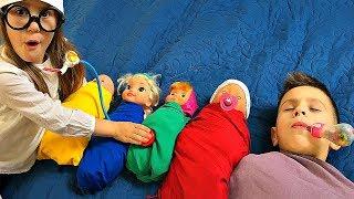 Are you sleeping brother John & Giant Stacking Rings BEST VIDEOS 2018 JoyJoy Lika