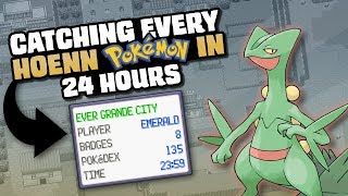 HOW EASILY CAN YOU CATCH EVERY POKEMON IN RUBY/SAPPHIRE/EMERALD?