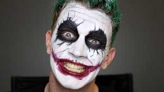 Joker Halloween Makeup Tutorial | Bosslady Shruti
