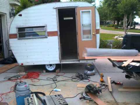 Vintage Camper Restoration Wmv How To Save Money And Do