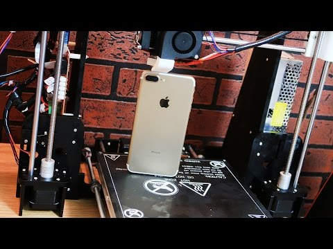 iPhone на 3D принтере - Влогодекабрь