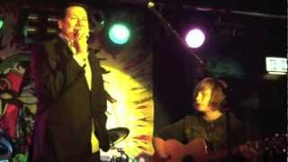 Tony Hadley and The Reaper's Joey Kenny perform Queen's Crazy Little Thing Called Love