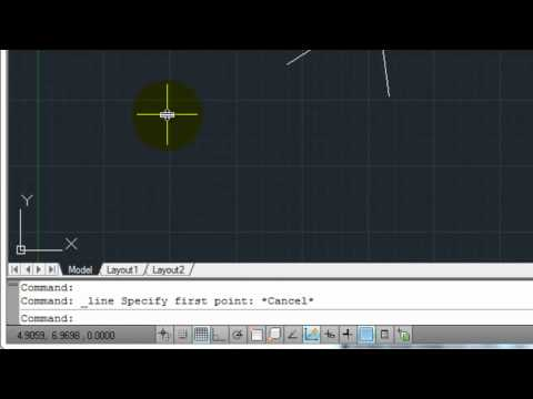 AutoCAD 2011 - Tutorial 01