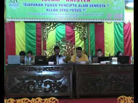 Debat Mantap Islam VS Kristen (Majidah dkk VS Rudy Yohanes) Bag I