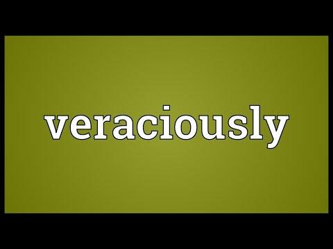 Header of veraciously