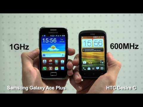 HTC Desire C VS Samsung Galaxy Ace Plus