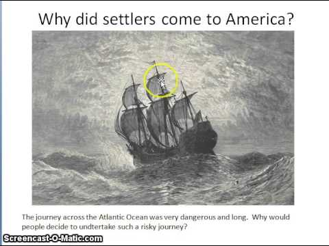 Screencast #1  Political and Economic Systems of Colonial America