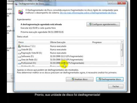 Como desfragmentar o disco do seu computador para melhorar a performance no Windows 7