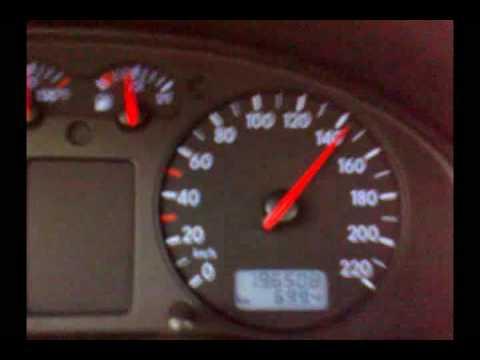 VW passat 1.9 TDI 110 HP 0-160 kmh