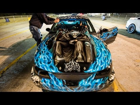 1600hp Nitrous Mustang - Insane Paint Job