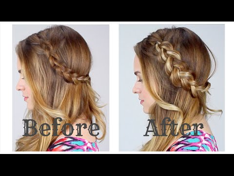 DIY For Volume & Faux Highlights in Braids!!