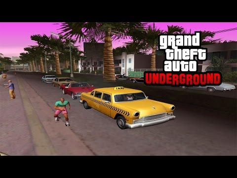 GTA Underground - San Andreas, Vice City & Liberty City Combined