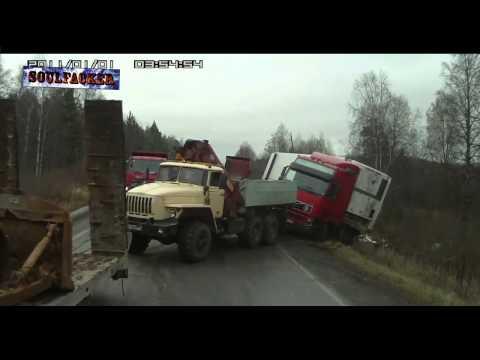 Подборка аварий на дорогах за Январь / Декабрь 2013 / 2014 [Soulfacker][2][ car crash ]