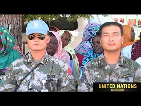 UNAMID East Darfur  Abukarinka locality Commemorates UN International Day of Peace