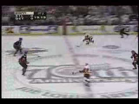 Steve Yzerman game 7 Overtime Goal Video