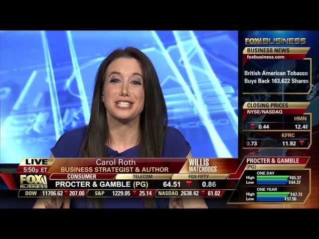 Carol Roth Fox Business on Small Business Fed up with Government, Michelle Obama vs. Paula Deen