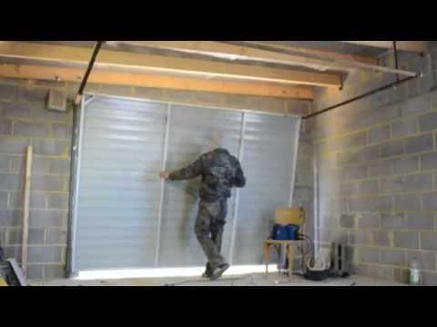 Ютуб ворота гаражные подъемно поворотные своими руками