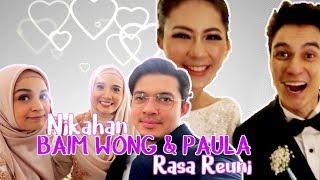 Artis rela antri di resepsi Baim wong & Paula ,siapa aja sih ?