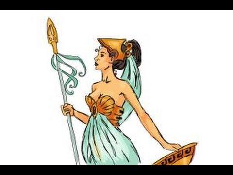 Athena Drawing How to Draw Athena