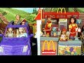 Barbie Sisters Work In Mc Donald S Drive Thru With Frozen Elsa Rapunzel Little Mermaid Ariel mp3