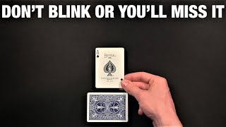 The Card Changes Out Of Thin Air! Very Visual Card Trick REVEALED