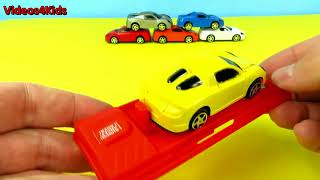 Learn Colors Cars Toys for Kids  Educational Video for Kids Learning with Street Vehicles