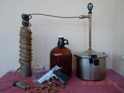 Home Made Pot Still