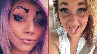 Hilarious Eyebrow Fails -  Photos of Ugly Eyebrows -  Funny Eyebrow Pictures