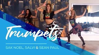 Trumpets - Sak Noel & Salvi - ft Sean Paul - Easy Fitness Dance Choreography