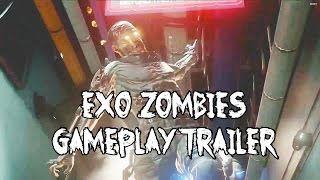"""Exo Zombies"" All New! Mystery Box, Pack A Punch, Undead Hounds & Perks!"