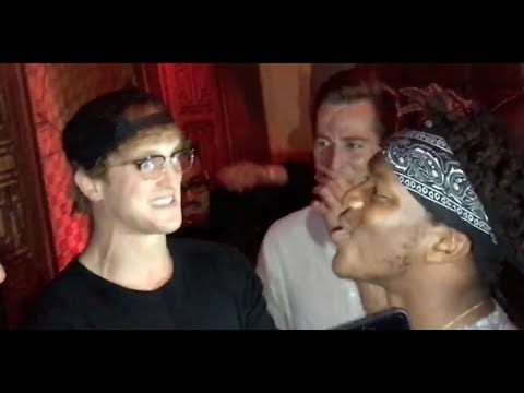 FACE TO FACE WITH LOGAN PAUL (BEFORE PRESS CONFERENCE)