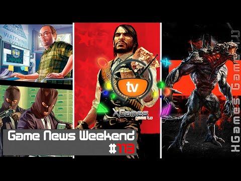 Game News Weekend - #113 от XGames-TV (Игровые Новости)