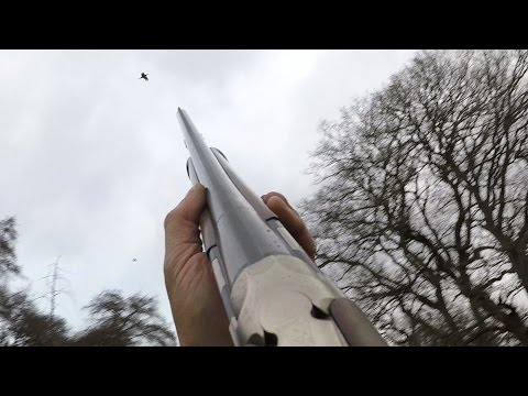 Powis Castle - High Pheasant with Shotkam and Go Pro Cameras
