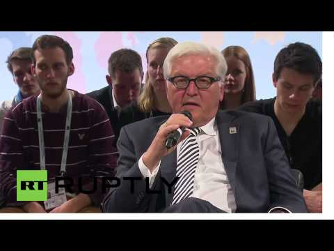Germany: Steinmeier wants Russia back in the G8