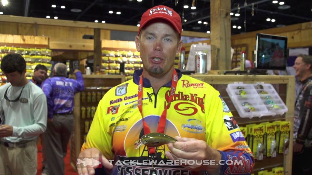 Strike King KVD 8.0 Magnum Squarebill with Keith Combs ...