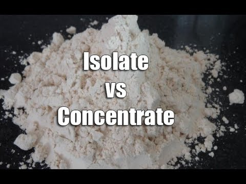 Whey Protein: Isolate vs Concentrate