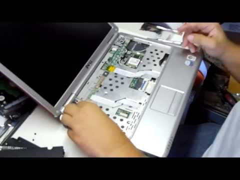 Dell Inspiron 1420 Disassembly & GPU Reflow: Part 1