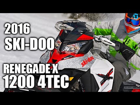 TEST RIDE: 2016 Ski-Doo Renegade X 1200 4TEC