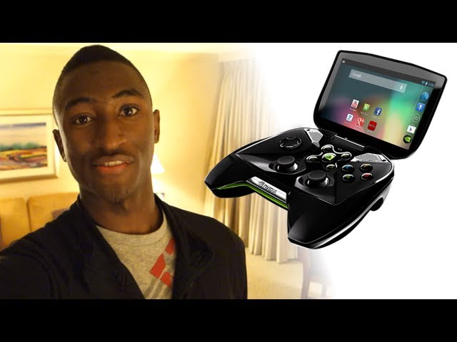 NVIDIA Project SHIELD at CES 2013!