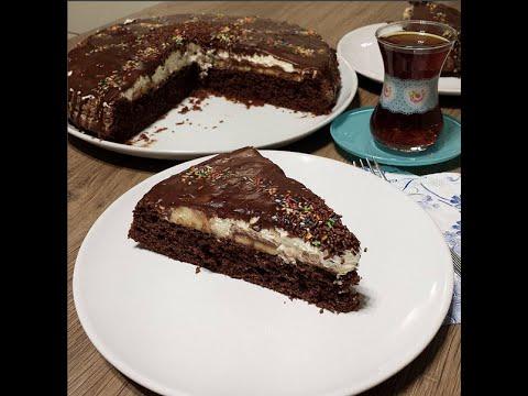 Çikolatalı Tart Kek Tarifi Videosu - Kek Tarifleri
