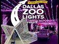 A Drive-Thru Event DALLAS ZOO LIGHTS 2020