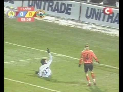 Динамо (Киев) - Шахтёр (Донецк) 1:0. ЧУ-2006/07 (обзор матча).